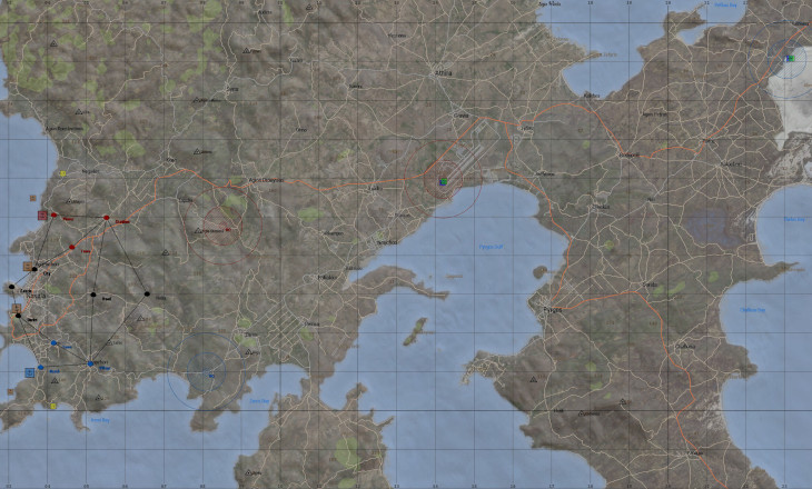 Реалистичные игровые карты в Arma 3: Украина, США, Азия